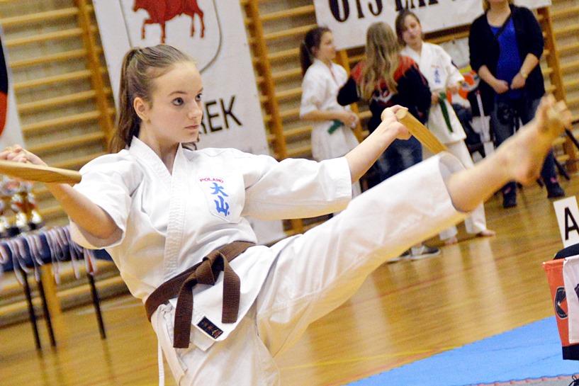 Turek: Mistrzostwa Polski Oyama PFK w Kata  - foto: Arkadiusz Wszędybył
