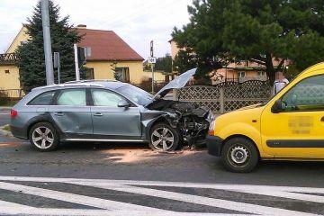 Malanów: Wypadek 3 aut osobowych