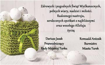 Życzenia Wielkanocne Samorządu Miasta Turek