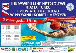 II Indywidualne Mistrzostwa Turku i powiatu w pływaniu