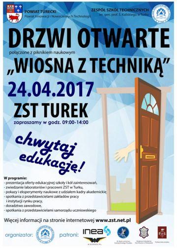 Drzwi Otwarte Zespołu Szkół Technicznych w Turku