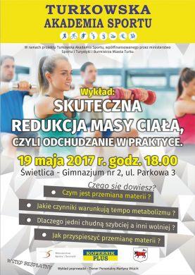 Turkowska Akademia Sportu: Wykład o odchudzaniu w praktyce