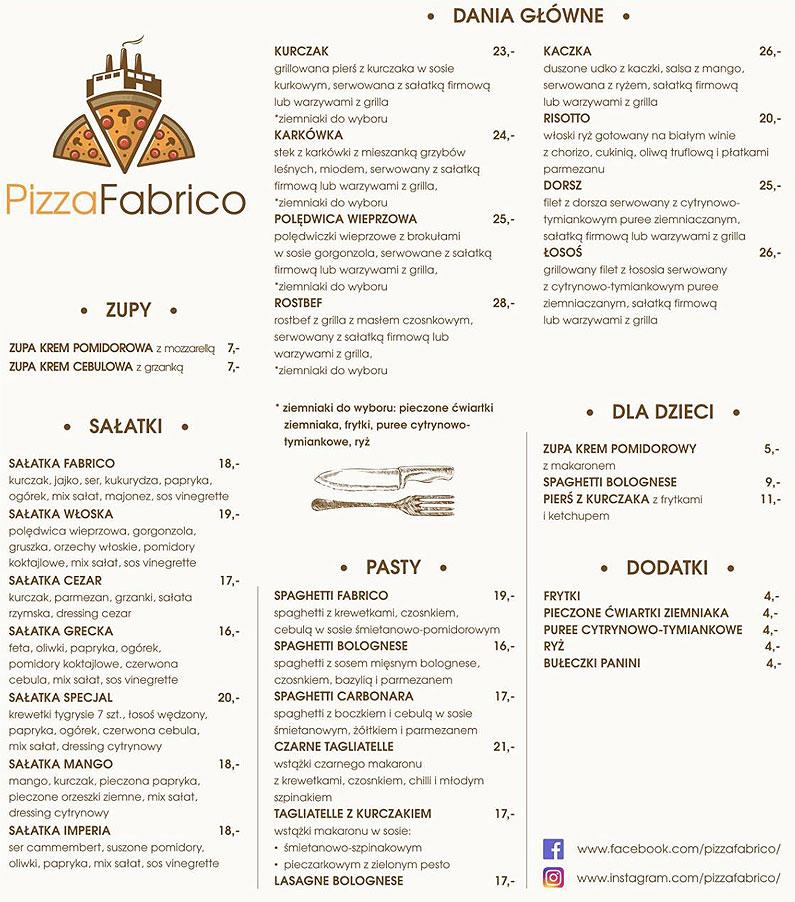 Pizza Fabrico