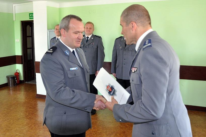 Ciesielczyk nowym zastępcą komendanta. Pankowski przeszedł do Konina - KPP w Turku / www.turek.policja.gov.pl