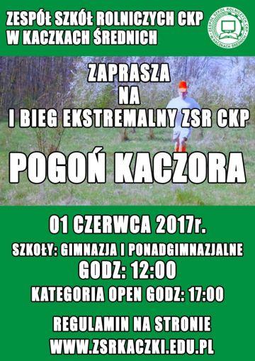 Pogoń Kaczora - I Ekstremalny Bieg w Kaczkach...