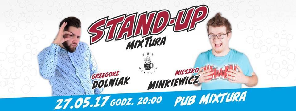 Już w sobotę: Stand-up w pubie mixTura