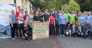 Turniej Burs Szkolnych i Internatów Turek 2017...