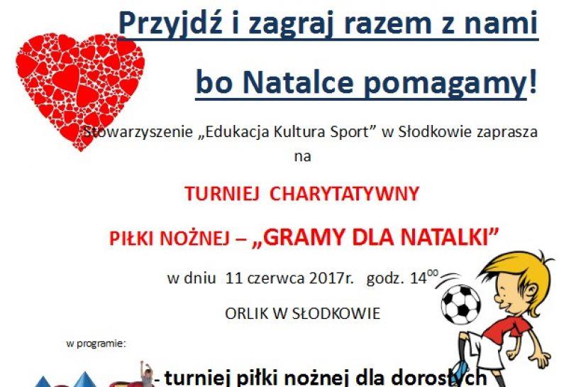 Słodków: Zagraj w piłkę dla Natalki