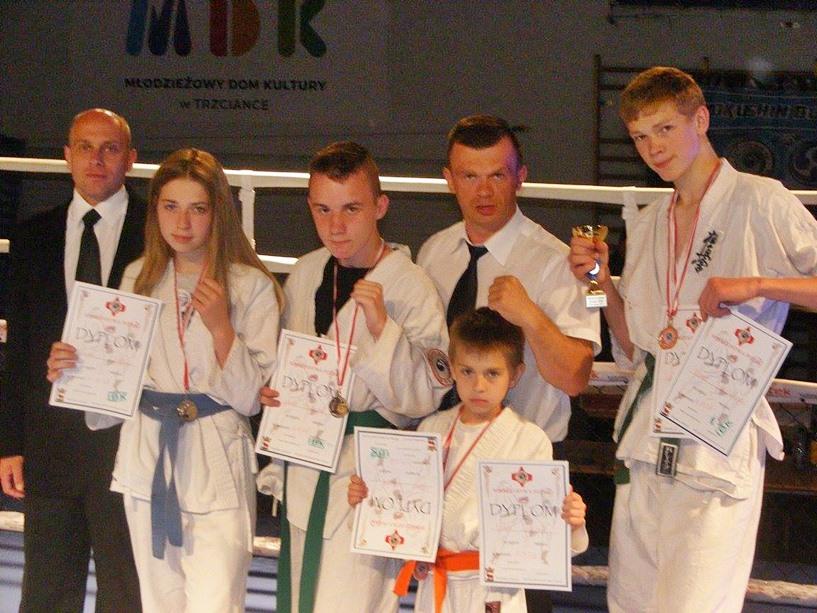 Mistrzostwa Polski IBK Kyokushin w Trzciance