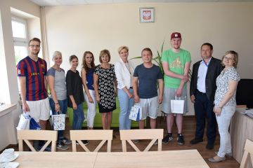 Uczniowie z Duisburga gościli w ZST