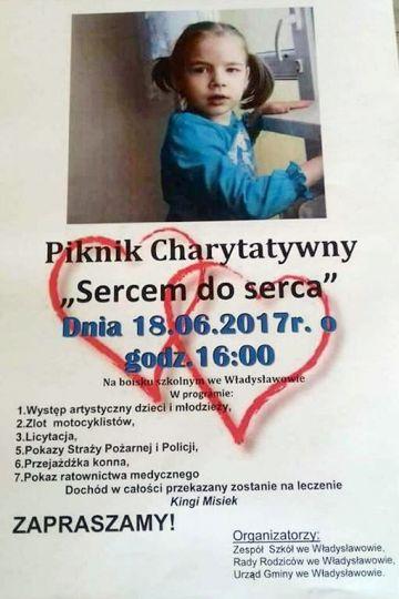 Władysławów: Piknik Charytatywny dla Kingi już 18 czerwca
