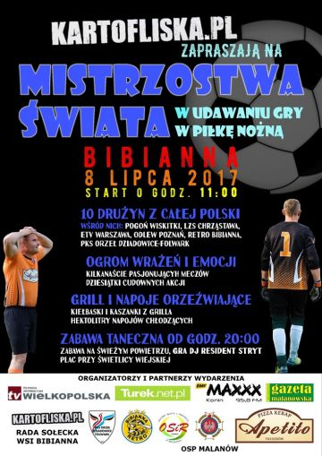 Bibianna: Śledzisz Kartofliska.pl? Mistrzostwa Świata w udawaniu gry w piłkę nożną już 8 lipca!