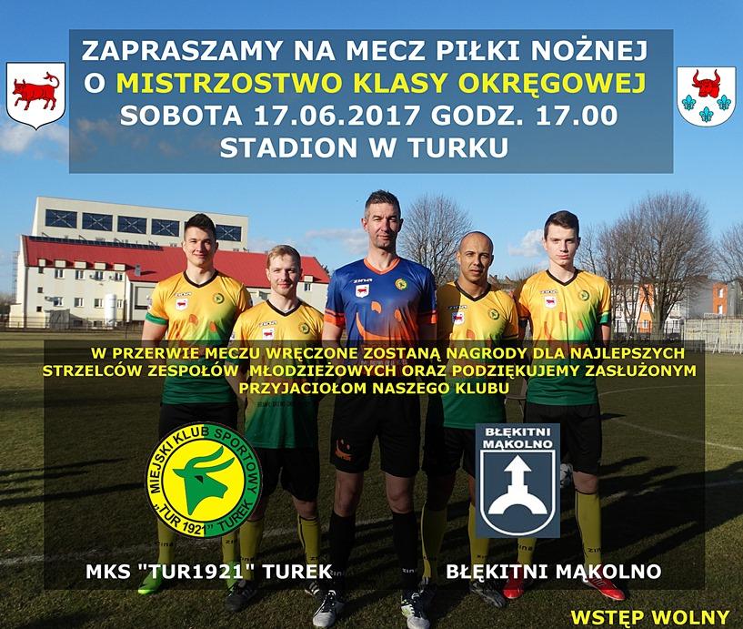 Tur 1921 Turek vs Błękitni Mąkolno