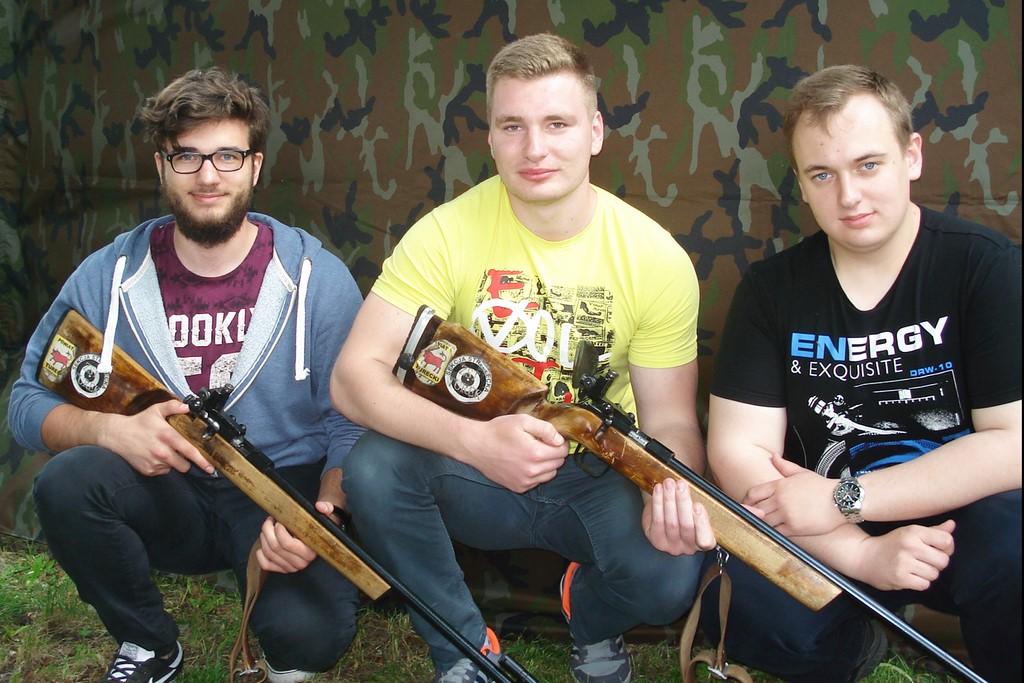 I miejsce uczniów ZST w finale Międzyszkolnej Ligi Strzeleckiej 2017