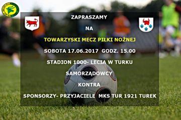 Samorządowcy vs sponsorzy i przyjaciele MKS Tur 1921 Turek