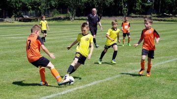 Turniej Orlika E1 - grupa mistrzowska - w Kłodawie