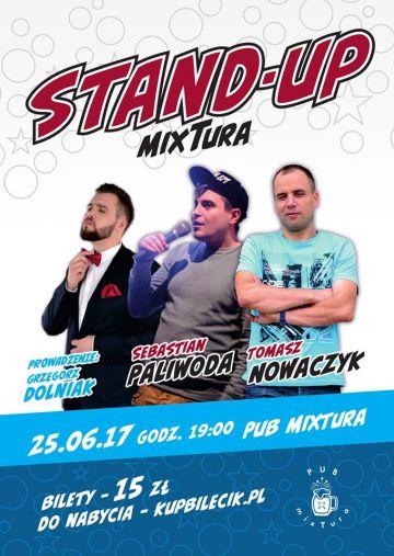 Stand-up mixTura 2: Nowaczyk, Paliwoda, Dolniak
