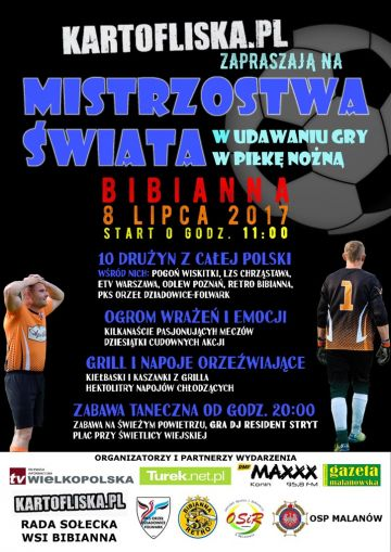 Mistrzostwa Świata w Udawaniu Gry w Piłkę Nożną...