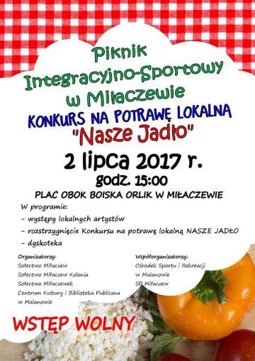 Konkursu na Potrawę Lokalną