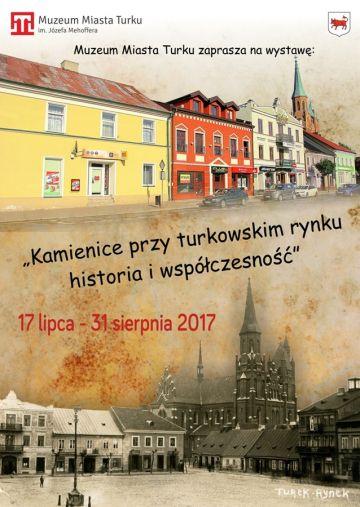 Kamienice przy turkowskim rynku - historia i współczesność