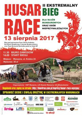 Husar Race - II Ekstremalny Bieg dla Służb Mundurowych