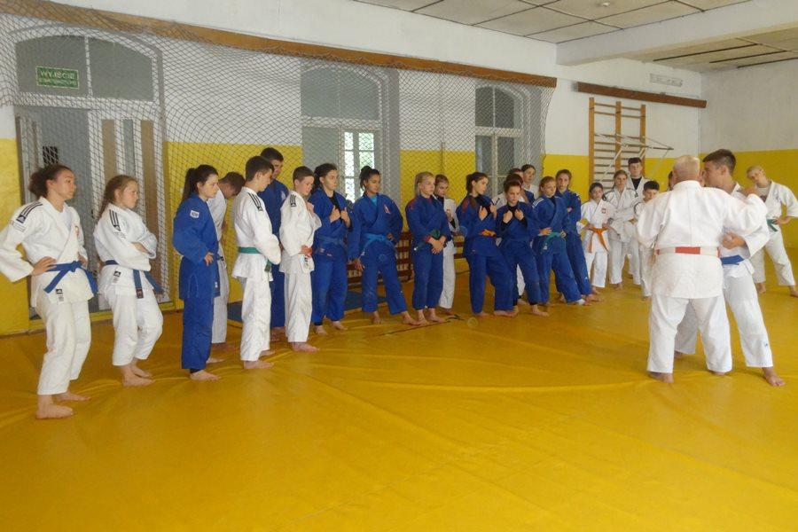 Tuliszków: Judocy na obozie