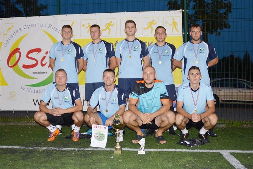 Malanów: FC Kawęczyn, PAJO Turek i  Korona Dziadowice na podium Wakacyjnej Ligi Piłki Nożnej