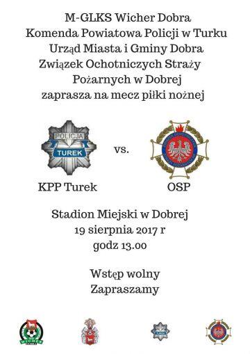 Mecz Policja kontra OSP