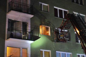 Turek: Pożar na Spółdzielców