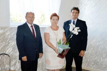 Kawęczyn: Gratulowali dyrektor Dorocie...