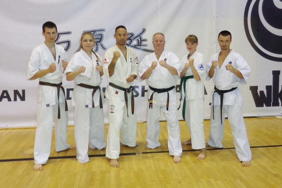 Obóz z Mistrzem. Karatecy trenowali z shihan Tadashi Ishihara