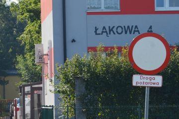 Droga pożarowa przy Łąkowej to nie parking
