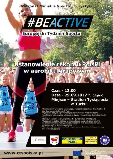 Rekord Polski w aerobiku grupowym