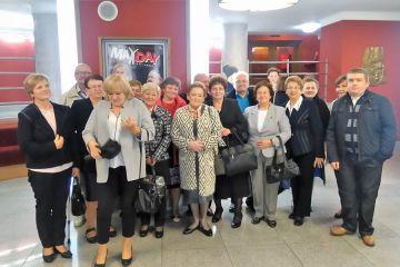 Władysławowscy seniorzy w Teatrze w Kaliszu