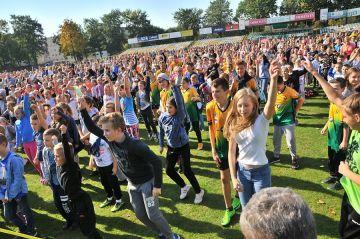 Turek: 1629 osób biło rekord Polski w aerobiku!