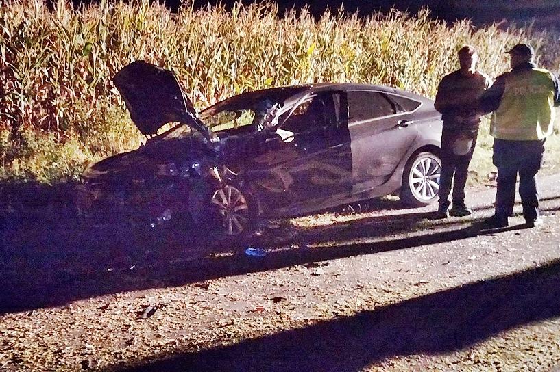 Piorunów: Wyprzedzała, rozbiła swego Hyundaia - Foto: