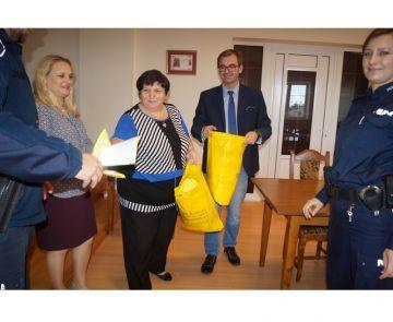 Wyszyna: Odblaskowe kamizelki dla przedszkolaków