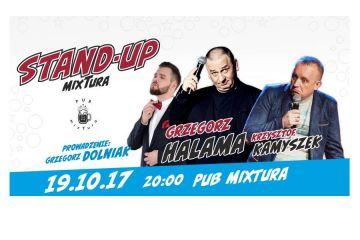 Halama, Kamyszek, Dolniak na stand-upie w mixTurze
