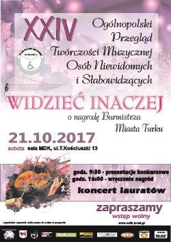 XXIV Ogólnopolski Przegląd Twórczości Muzycznej Osób Niewidomych i...