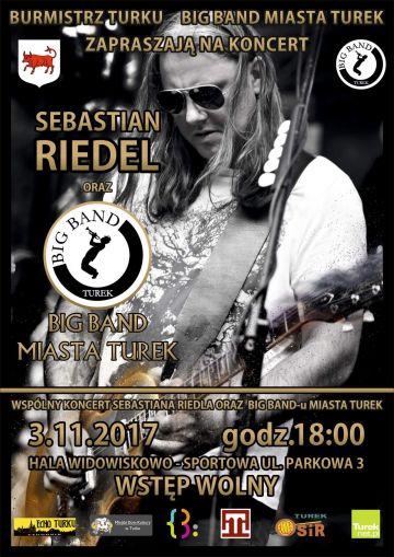 Koncert: Sebastian Riedel & Big Band Miasta Turek