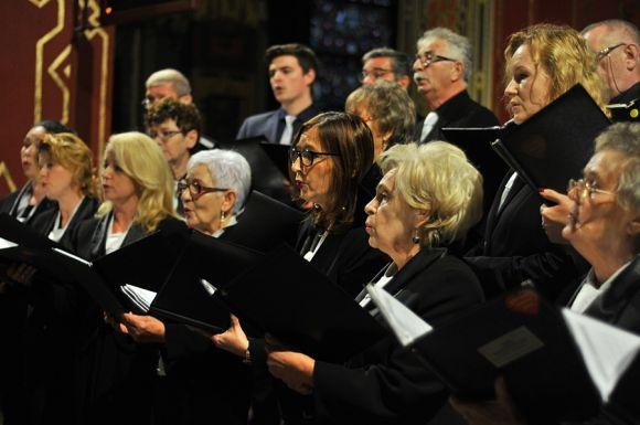 Miasto Turek: Chóralny śpiew rozbrzmiał w murach kościoła NSPJ