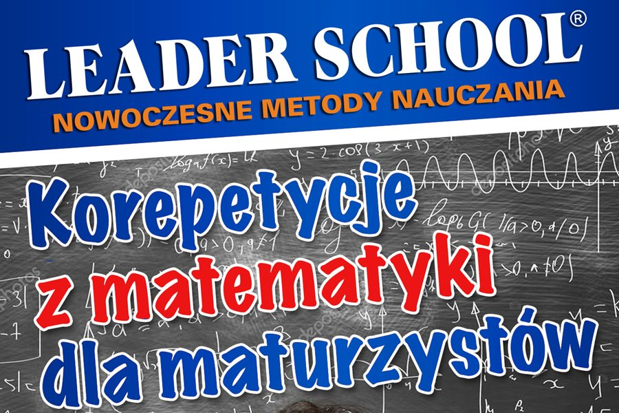 Korepetycje z matematyki jesienną nowością w Leader School Turek