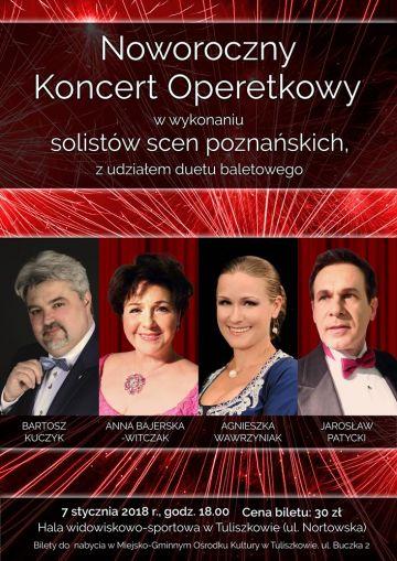 Tuliszków: Noworoczny Koncert Operetkowy już 7 stycznia