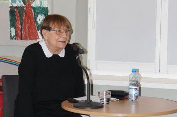 Spotkanie z prof. dr hab. Teresą Grzybkowską...