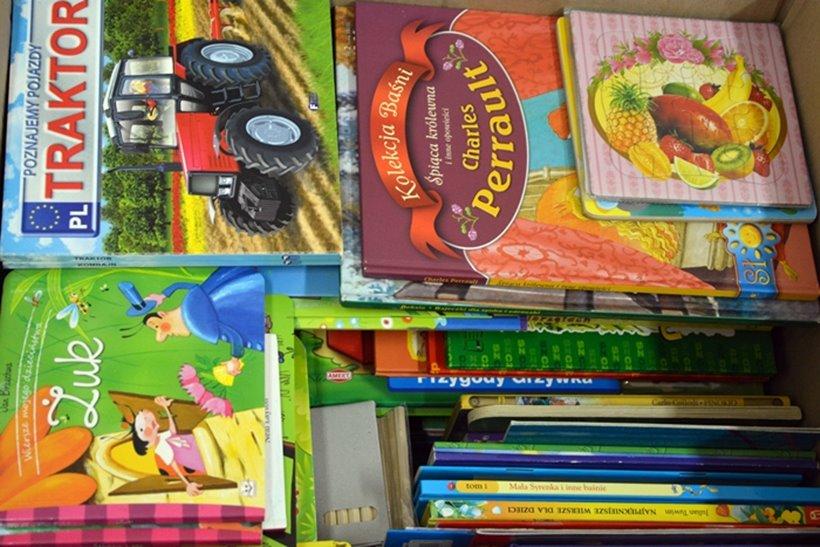 Udana zbiórka książek