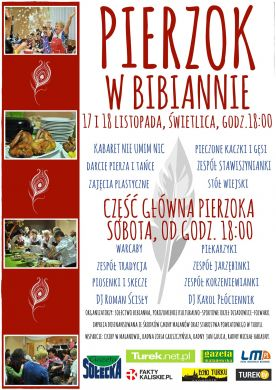 Darcie pierza w Bibiannie - Pierzok 2017