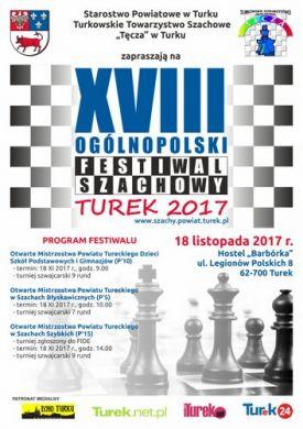 XVIII Ogólnopolski Festiwal Szachowy 2017