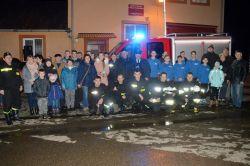 Wideo: Nowy wóz strażacki w OSP Będziechów