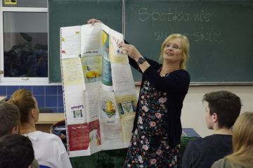 Spotkanie autorskie z Beatą Ostrowicką w Szkole...