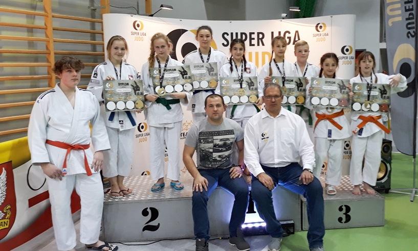 Tuliszków: Zdobywali medale podczas Super Ligi Judo